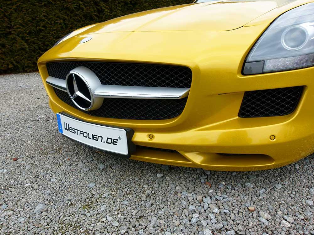 Mercedes SLS in Hornret Metallic